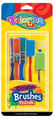Štětce Creative Colorino sada 6 kusů