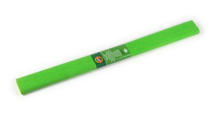Papier krepový zelený svetlý č.17, 22
