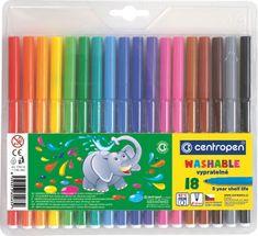 Centropen Popisovač 7790 sada 18 barev