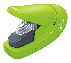 PLUS Zošívač bezsponkový 5 hárkov zelený