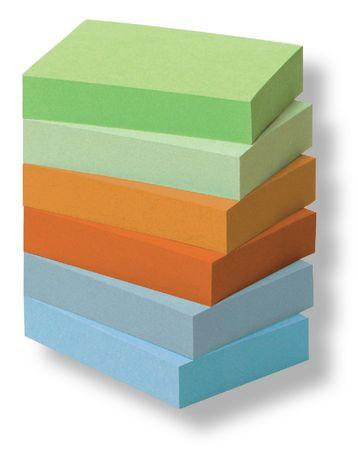 Post-It Blok samolepicí 51 x 38 mm/6 ks rainbow, recykl