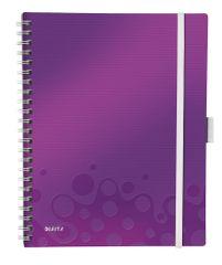 Leitz Blok mobilní WOW A4 čtverečkovaný purpurový