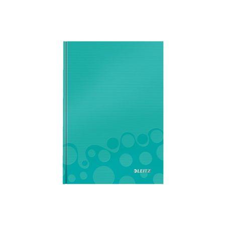 LEITZ Zápisník WOW A5 štvorčekový ľadovo modrý