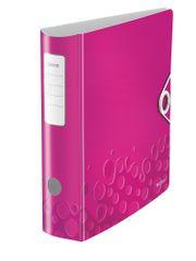 Leitz Mobilní pořadač 180° ACTIVE WOW A4 8,2 cm metalicky růžový