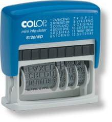 COLOP Razítko Mini-Dater S 120/WD samobarvicí, různé texty