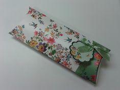 Clairefontaine Krabička dárková Eden Garden střední 28,5x12x5,5 cm, povrch hedvábí, motiv květy