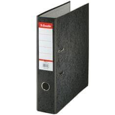 Pořadač pákový papírový Rainbow A4 7,5 cm černý