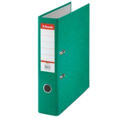 Esselte Pořadač pákový papírový Rainbow A4 7,5 cm zelený