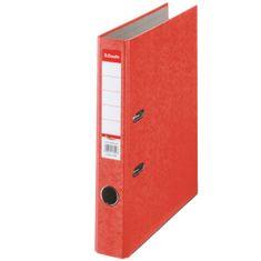 Esselte Zakladač pákový papierový Rainbow A4 5 cm červený