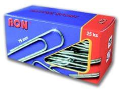 Spony aktové 475, 75 mm / 25 ks