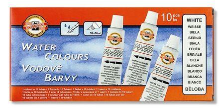 Farby vodové beloba krycie tuba 16 ml