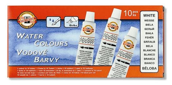 KOH-I-NOOR Farby vodové beloba krycie tuba 16 ml