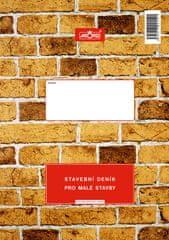 Tiskárna AKORD Stavební deník pro malé stavby, 3 x 25+8 L, samopropisovací