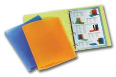 Karton PP Zakladač 4-krúžkový polypropylén ICE A4 oranžový