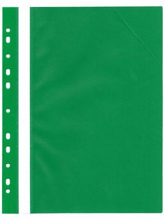 Karton P+P Rychlovazač plastový s euroděrováním zelený