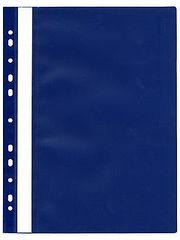 Karton PP Rýchloviazač plastový s eurodierovaním modrý