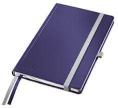 Leitz Zápisník Style A5 tvrdé desky čtverečkovaný titanově modrý