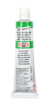 Barva temperová tuba 16 ml - zelená světlá