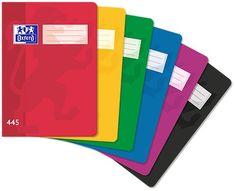 Oxford Sešit bezdřevý 445 - A4 čtverečkovaný, 40 listů, mix barev