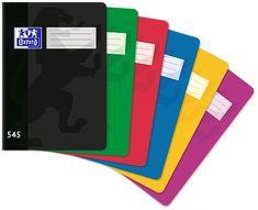 Oxford Školský zošit 545 - A5, štvorčekovaný, 40 listov, mix farieb