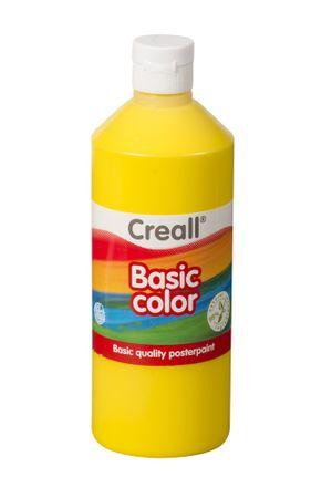 Farba temperová 0,5 l žltá