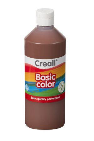 Farba temperová 0,5 l hnedá
