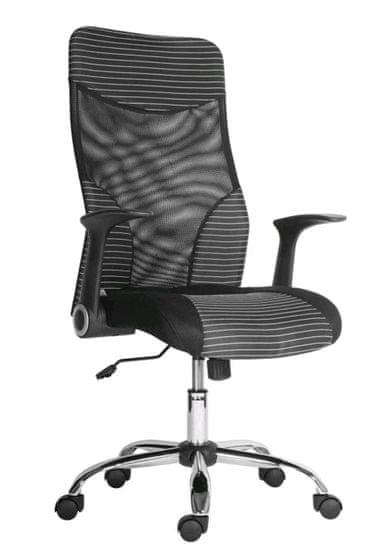 Antares Kancelárska stolička Georgetown biela