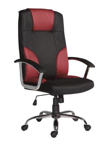 Antares Kancelárske kreslo Miami červeno-čierne