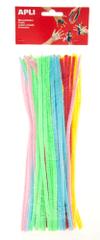 Apli Modelovacie drôtiky žiarivý farebný mix / 50 ks