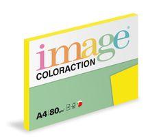 Image Papier kopírovací Coloraction A4 80 g žltá sýta 100 hárkov