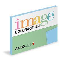 Image Papier kopírovací Coloraction A4 80 g modrá ľadová 100 hárkov