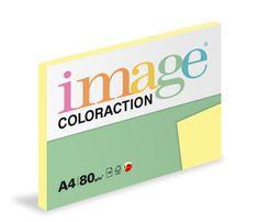 Image Papier kopírovací Coloraction A4 80 g žltá pastelová 100 hárkov