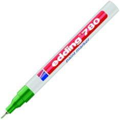 Edding Značkovač 780 zelený lakový