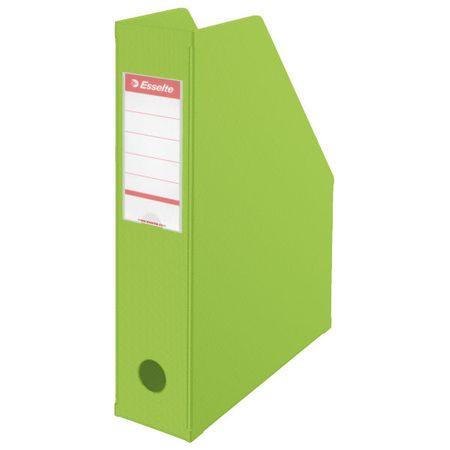 Esselte Stojan na časopisy 7 cm VIVIDA Economy zelený