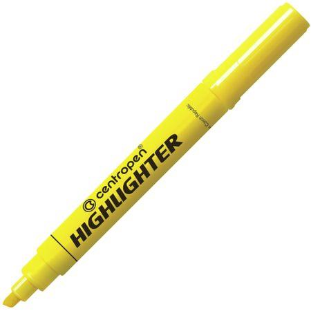 Centropen Zvýrazňovač 8552 žlutý