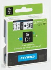 Dymo Páska D1 12mm/7m černá na bílé