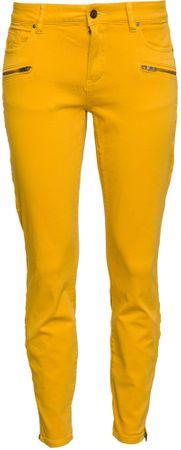 s.Oliver dámské jeansy 42 žlutá