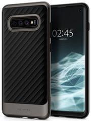Spigen Ochranný kryt Neo Hybrid pro Samsung Galaxy S10, metalický 605CS25809