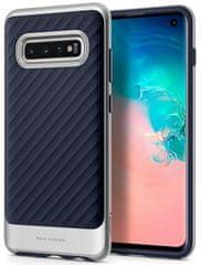 Spigen Ochranný kryt Neo Hybrid pro Samsung Galaxy S10, stříbrný 605CS25811
