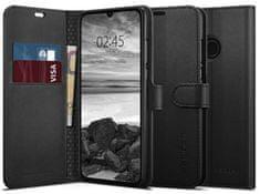Spigen Ochranné pouzdro s funkcí stojánku Wallet S pro Huawei P30 Lite, černé L39CS25744