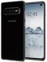 Spigen ovitek Liquid Crystal za Samsung Galaxy S10, prozoren