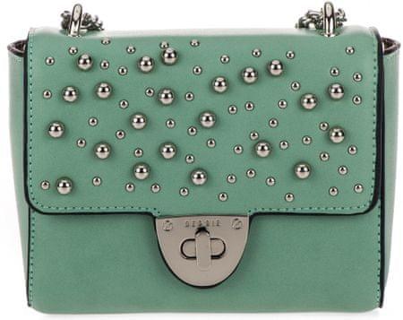 Bessie London crossbody táska zöld