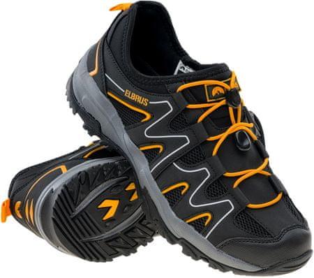 ELBRUS buty turystyczne męskie Gerdis Black/Dark Grey/Radiant Yellow 41