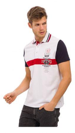 Galvanni moška polo majica Astrup, XL, bela