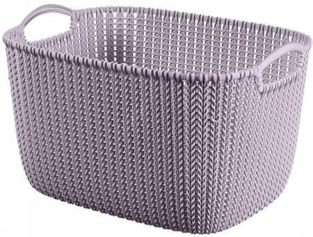 Curver Knit košík 19l, světle fialový