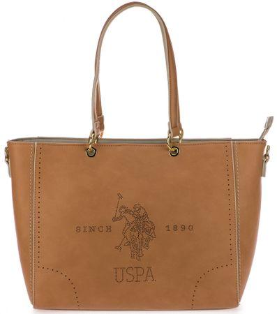 U.S. Polo Assn. hnědá kabelka Barrington