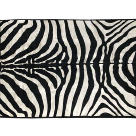 Koberec, vzor zebra, 100x140, ARWEN