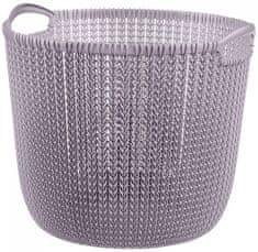 CURVER Knit kerek kosár 30 l világoslila