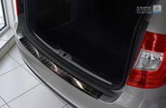 Avisa Ochranná lišta hrany kufru Škoda Superb II. 2013-2015 (tmavá, combi)