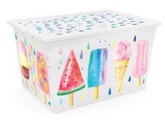 Kis C Box Style XL, Portobello, 50l - rozmer 55x38,5x30,5 cm